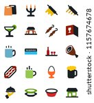 color and black flat icon set   ... | Shutterstock .eps vector #1157674678