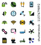 color and black flat icon set   ... | Shutterstock .eps vector #1157679892