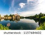 mountain church in beucha near... | Shutterstock . vector #1157684602