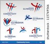 community icon | Shutterstock .eps vector #115769566