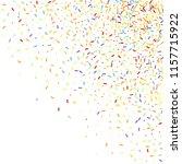 sprinkles grainy. sweet... | Shutterstock .eps vector #1157715922