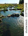running water power plant | Shutterstock . vector #1157721448
