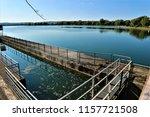 running water power plant | Shutterstock . vector #1157721508