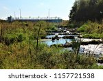 running water power plant | Shutterstock . vector #1157721538