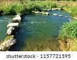 running water power plant | Shutterstock . vector #1157721595