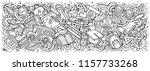 school doodles banner design.... | Shutterstock .eps vector #1157733268