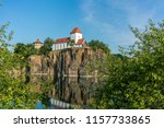 famous mountain church in... | Shutterstock . vector #1157733865
