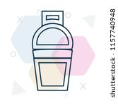 shaker icon vector can be used... | Shutterstock .eps vector #1157740948