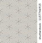 vector seamless pattern. modern ... | Shutterstock .eps vector #1157746915