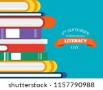 international literacy day... | Shutterstock .eps vector #1157790988
