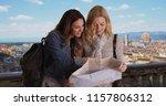 couple of white girls using... | Shutterstock . vector #1157806312