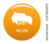 willow tree icon. simple... | Shutterstock .eps vector #1157825692
