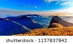 fantastic sunrise over rocky... | Shutterstock . vector #1157837842
