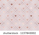 geometric seamless pattern with ... | Shutterstock .eps vector #1157843002