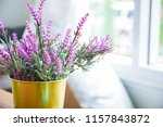 light from the window and decor ... | Shutterstock . vector #1157843872