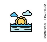 nature landscape flat icon | Shutterstock .eps vector #1157848255