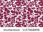 Flower Pattern And Textile...