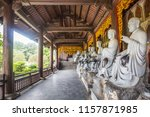 bai dinh pagoda is a group of...   Shutterstock . vector #1157871985