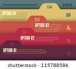 vector background number...   Shutterstock .eps vector #115788586