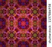 vector tribal ethnic ornament.... | Shutterstock .eps vector #1157886958