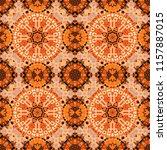 seamless pattern from mandalas... | Shutterstock .eps vector #1157887015