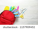 flat lay composition with... | Shutterstock . vector #1157909452