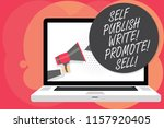 word writing text self publish... | Shutterstock . vector #1157920405