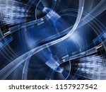 abstract background element.... | Shutterstock . vector #1157927542