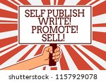 writing note showing self... | Shutterstock . vector #1157929078