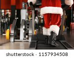 authentic santa claus training... | Shutterstock . vector #1157934508