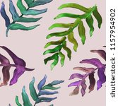 watercolor hand drawn summer... | Shutterstock . vector #1157954902