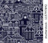 hand drawn seamless pattern...   Shutterstock .eps vector #115797892