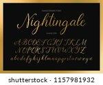 nightingale. handdrawn...   Shutterstock .eps vector #1157981932