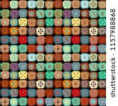 ethnic seamless pattern.... | Shutterstock .eps vector #1157988868