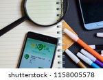 bekasi  west java  indonesia.... | Shutterstock . vector #1158005578