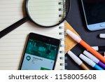 bekasi  west java  indonesia.... | Shutterstock . vector #1158005608