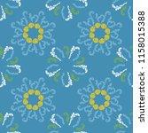 spring branches elegant... | Shutterstock .eps vector #1158015388