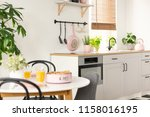 real photo with blurred... | Shutterstock . vector #1158016195
