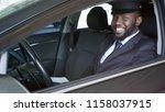 happy african american... | Shutterstock . vector #1158037915