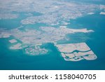 high altitude aerial view of... | Shutterstock . vector #1158040705