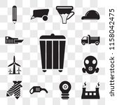 set of 13 editable icons such...