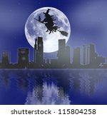 Halloween Night Background...