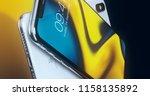 cupertino  usa   17 august 2018 ... | Shutterstock . vector #1158135892