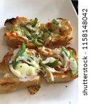 delicious homemade gluten free... | Shutterstock . vector #1158148042