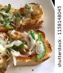 delicious homemade gluten free... | Shutterstock . vector #1158148045