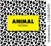 animal pattern collection | Shutterstock .eps vector #1158153292