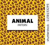 animal pattern collection | Shutterstock .eps vector #1158153295