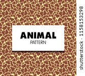animal pattern collection | Shutterstock .eps vector #1158153298
