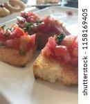 delicious homemade gluten free... | Shutterstock . vector #1158169405