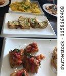 delicious homemade gluten free... | Shutterstock . vector #1158169408